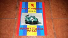 SPORTITALIA TEAM 3 ANNI DI CONQUISTE 1990 1991 1992 AUTO D'EPOCA VETERAN CAR
