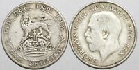 1920 to 1927 George V Silver Shilling First Design Your Choice of Date / Year