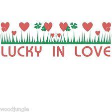 PYREX LUCKY IN LOVE pattern  T-SHIRT SHIRT retro CASSEROLE MILK GLASS HEARTS