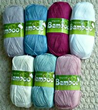 Knitting Wool 4ply Knitting Wool 100g Bamboo Cotton 4ply Yarn King Cole