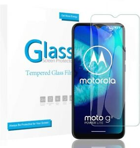 For Motorola Moto G8 PRO Tempered Glass Screen Protector Invisible Shield Clear