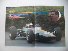 POSTER ANNO 1982 - JIM CLARK SU LOTUS 33 CLIMAX