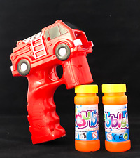 Fire Fighting truck Bubble Gun Blower Blaster with Flashing LED Lights & Music