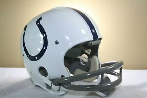 Vtg style BALTIMORE COLTS Suspension RK John Unitas Football Helmet 1960's HOF