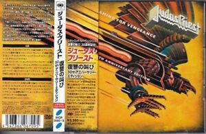 JUDAS PRIEST-Screaming For Vengeance 30th JAPAN CD + DVD with OBI
