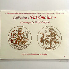 Cross Stitch Chart Patrimoine by Le Passe Compose Traditional Cherubs
