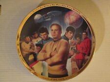 Star Trek: 25th Anniversary Commemorative Plate / Coa