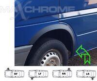 VW LT Wheel Arch Quater Panel Trims BLACK set Front Rear 4 pcs '95-05 New