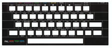 Timex TC 2048 Keyboard Cover/Überlagerung. Black. Keyboard Overlay. New