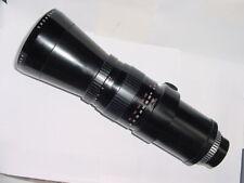 Pentacon 500mm F/5.6 G.D.R M42 Screw Mount Manual Focus Lens
