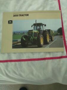 JOHN DEERE 3050 Brochure