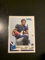 2019 Donruss #333 Justice Hill Rated Rookie Ravens RC