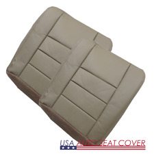 03 07 Ford Excursion V8 GAS  7.3L Diesel  Dr. Pa. Bottom Leather seat cover TAN