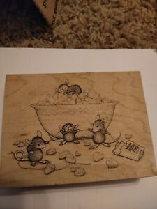 Stampa Rosa House Mouse Rubber Stamp 245  Sweet Relief (Maxwell )  2000 Z29