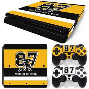 PS4 Slim Playstation 4 Console Skin Decal Sticker Sid Pittsburgh Custom Design