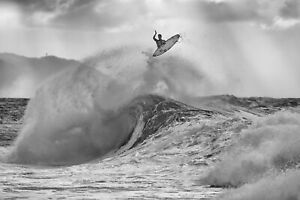 """Gabriel Medina on the North Shore 12x18"""" Photo by Pete Frieden"""