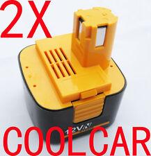 2 Batteries For Panasonic 12V 3.0Ah Ni-MH EZ9107 EY9001 EY9101 EY3790 EY6205 OZ