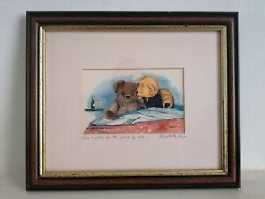"""Elizabeth Parr Signed Print """"Two nights for the price of one"""""""