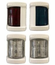LALIZAS MIDI NAVIGATION LIGHTS - SET OF 4 'WHITE HOUSING'