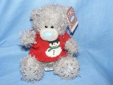 Me to You Bear In Snowman Jumper G01W3895 Tatty Teddy Christmas Present Gift