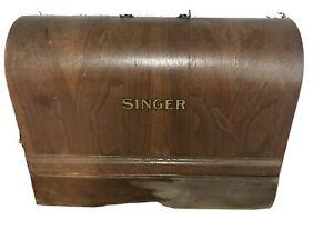Beautiful Vintage Singer 128-23 Portable Electric Sewing Machine