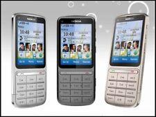 Nokia C Series C3-01 -Multi-Color (Unlocked) Cellular Phone 3G WIFI 2018
