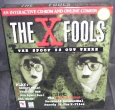 THE X FOOLS The Spoof Is Out There Interactive CD-ROM and Online Comedy Parody
