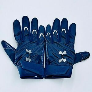 Under Armour Spotlight Football Receiver Gloves  Blue NFL LG. New without tags.