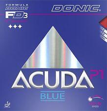 Donic Acuda Blue P1 Revestimiento de Tenis de Mesa Revestimiento de Ping Pong