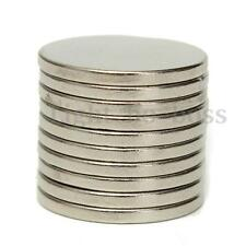 10x Disc Round Rare Earth Neodymium Super Strong Magnets 20mm x 2mm Grade N30