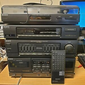 Sony XO-D501 Compact Hi Fi Stereo Stacking System Tape Player Used  (W3)