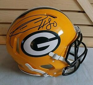 DONALD DRIVER Signed Green Bay Packers Authentic NFL Helmet - Beckett COA