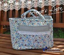 Klassisch blau Garten Laura Ashley Tolle Picknick-lagerung/Wäschekorb/Tasche/