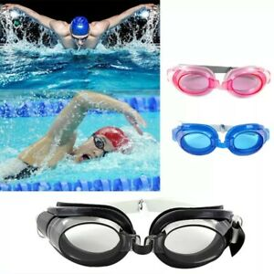 Swimming Goggles Adjustable Anti-fog With Waterproof Earplugs Nose Clip Adult Ch