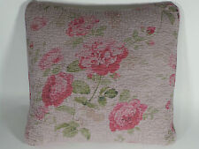 """1 SQUARE DECORATIVE THROW PILLOW NEW LENOX VINTAGE FLORAL QUEEN KING 18"""" X 18"""""""