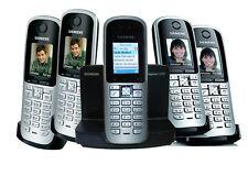 5x Siemens Gigaset Schnurlos analog Telefon S680/S685/S670/S685//C470 5 er -Set