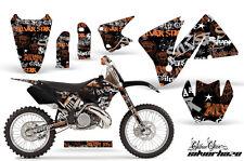 Moto Tout-Terrain Décalque Graphisme Kit Drapé pour KTM sauf 200-520 MXC 200-300