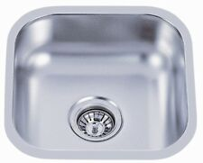 "Undermount Kitchen Single Bowl Stainless Sink <18Gauge> 16"" x 16"""