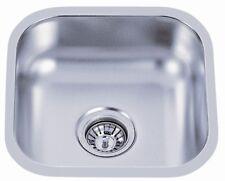 """Undermount Kitchen Single Bowl Stainless Sink <18Gauge> 16"""" x 16"""""""