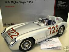 MERCEDES-BENZ 300 SLR 1955 MOSS MILLE MIGLIA en la 1/18 CMC M066 coche miniatura