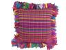 SALE Extra Large Cushion Floor Cushion Bright Multi Colour 80 x 80cm GLAMPING