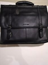 Kenneth cole Leather Laptop Bag With Plenty of Other Space Excellent...
