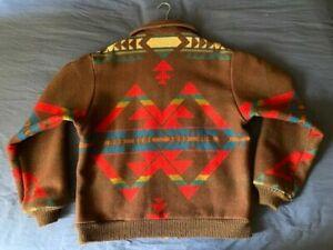 Men's vintage Pendleton High Grade Westernwear Southwestern navajo jacket size L