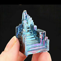 1pc Rare Rainbow Titanium Bismuth Specimen Mineral Gemstone Crystal Mineral Rock