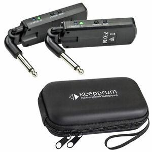 Vyrve Audio G5 Wireless Funksystem für Gitarre + keepdrum Soft-Case