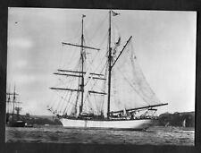 C1970s Maritime Museum Card: The American Brigantine Carnegie
