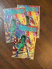 3x The Terminator (Tempest) #1 (Aug 1990, Dark Horse) John Arcudi VF COPIES