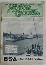 Motor Cycling 18 May 1938 Motorcycle Magazine TT Norton New Imperial Clubman