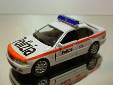 HONGWELL BMW 528i E39 - POLIZIA 126 - WHITE 1:43 - GOOD CONDITION