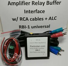 Yaesu FT-990 Amplifier Relay Keying Cable with ALC and RBI-1 Buffer Interface